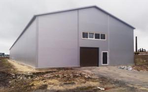 Строительство складов.