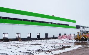 Строительство производственных комплексов.