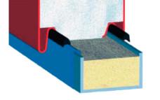 Укладка герметика в местах соединения.